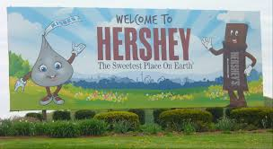 Hershey Pennsylvania Map From Las Vegas To Hershey Pa The Sweetest Place On Earth