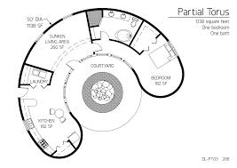 floor plans 1 bedroom monolithic dome institute floor plan dl pt03