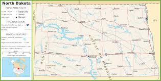beulah dakota map dakota highway map