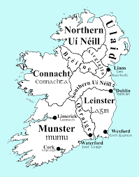 Map Of Ireland And England by List Of Irish Kingdoms Wikipedia