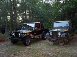jeep scrambler for sale near me oriental red original paint refresh with nos archive jeep cj 8