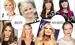 pear shaped face hairstyles face time best and worst hairstyles for your face shape stylecaster