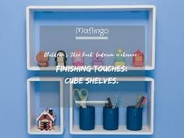 children u0027s bedroom makeover finishing touches cube shelves