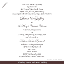 how to word wedding invitations 10 wedding invitation sle wording authorizationletters org