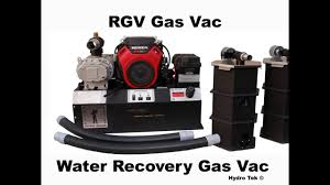 Power Vaccum Gas Power Vacuum Recovery Systems For Pressure Cleaners Hydro Chem