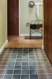 hourglass entryway floor motawi tileworks
