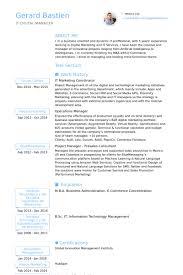 Social Media Manager Resume Sample by Marketing Coordinator Resume Samples Visualcv Resume Samples