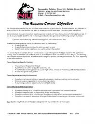 Sample Nursing Resume Objective career objective for resume for fresher
