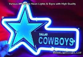 nfl dallas cowboys 3d neon sign bar light nfl