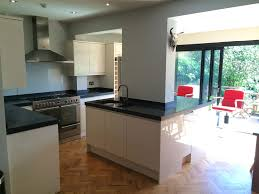 forest hill polished concrete kitchen worktops in situ cast