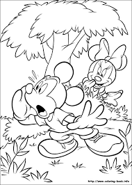 mickey coloring picture mickey mouse u0026 friends colouring pages