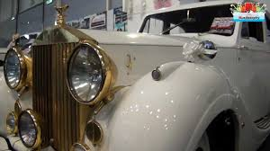 rolls royce white and gold white gold rolls royce luxury classic wedding car video youtube