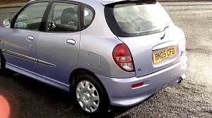 daihatsu www bennetscars co uk 2005 daihatsu sirion 1 3 sl 65k fsh now sold