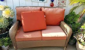 Martha Stewart Living Patio Furniture Cushions Outdoor Cushion Replacement Sunbrella Pembrey Chaise Lounge Wicker