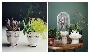 Indoor Plant Vases A Bolt Of Blue Cool House Plant Containers