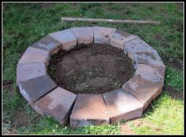 How To Make A Fire Pit In The Backyard by How To Make Fire Pit At On Home Design Ideas With Hd Resolution