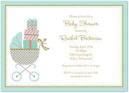 baby buggy gender neutral baby shower invites myexpression 20244