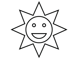 coloring pages sunglasses sun moon pictures sunday