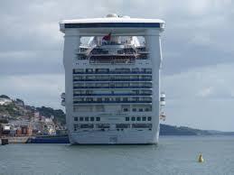 ferry publications caribbean princess of princess cruises at cobh