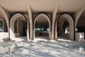 Front Entrance Foyer by Gallery Of Al Islah Mosque Formwerkz Architects 3