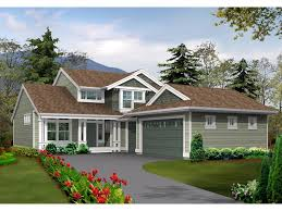 front garage house plans lot narrow plan house designs craftsman plans best with front
