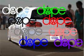vw logos dope u2013 vw audi u2013 decal logo u2013 stickit stickers u0026 decals