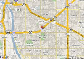 map of tulsa map of tulsa select hotel conference center tulsa