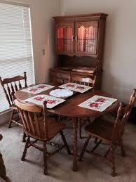 cochrane dining room furniture cochrane oak dining room table leaf 4 chairs furniture in