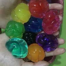 500g lot wholesale spherical13 16mm soft crystal soil water beads