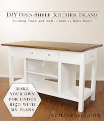 cabinet build a kitchen island how to make a kitchen island