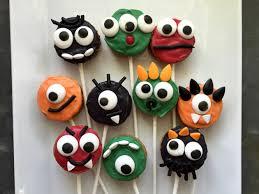 Halloween Treats Halloween Treats Monster Cookie Pops Wenderly