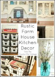 rustic kitchen accessories new rustic farmhouse kitchen decor the