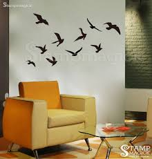 flying sea birds wall decal stampmagick decals decal material matt vinyl see our wall information page learn more about decals including properties color chart