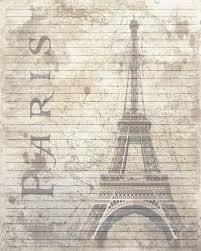 brown writing paper printable journal page vintage paris lined digital zoom