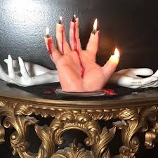 if you think these hand candles are scary wait til they finish