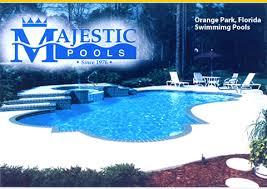 Swimming Pool Companies by Majestic Pools Orange Park Fl Best Vinyl Liner Pool Builders