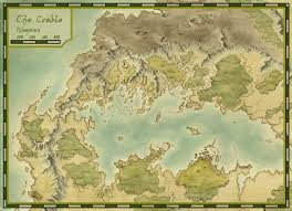 Blank Fantasy World Map by Tg Traditional Games