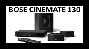 sound bar v home theater system bose cinemate 130 home theater system youtube