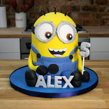 minions cake toppers 3d minion cake tutorial despicable me cakes