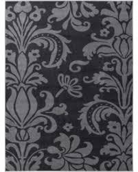 Modern Damask Rug Amazing Winter Savings On Electro Rosetta Grey 3 3 X4 7 Modern