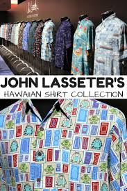 Halloween Hawaiian Shirt by Disney Sisters John Lasseter U0027s Hawaiian Shirt Collection As