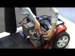 Scooter Chair How To Change Mobility Scooter Batteries Youtube