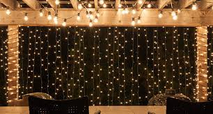Backyard String Lighting Ideas How To Hang Patio Lights Yard Envy