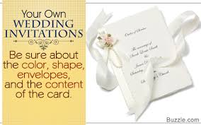 How To Make Your Own Wedding Invitations How To Make Your Own Wedding Invitations