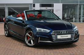 audi convertible used audi a5 s5 convertible cars for sale motors co uk