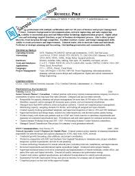 Financial Advisor Resume Samples by Resume Format For Freshers Networking