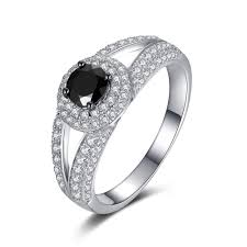 black sapphire engagement rings cut black sapphire sterling silver s engagement ring