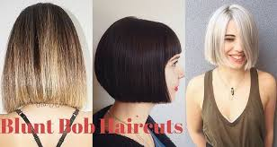 blunt cuts for fine hair hairstyle pic 70 winning looks with bob haircuts for fine hair