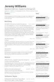 supervisor resume exles operations supervisor resume sles visualcv resume sles database