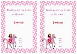 free printable birthday horse invitation u2013 orderecigsjuice info